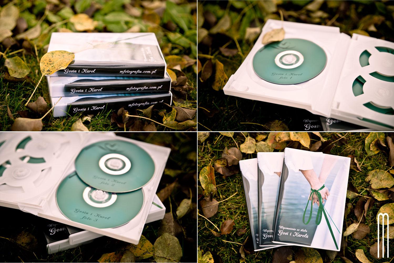 album ślubny tradycyjny ze wstażką