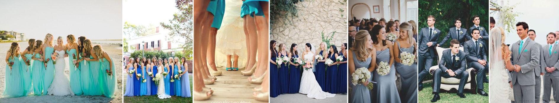 poradnik ślubny wedding planner'ki - świadkowa na niebiesko