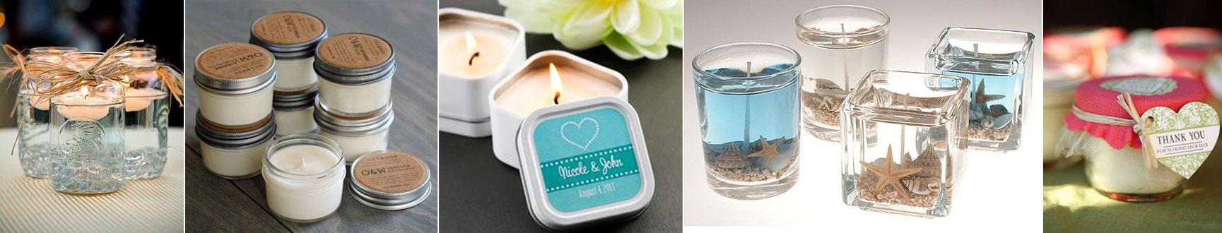 upominek dla gości wselenych - świece aromatyczne