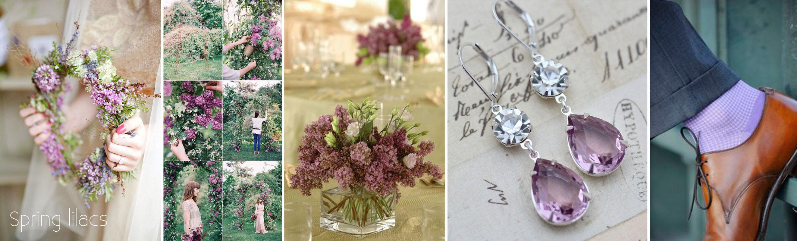 dekoracje ślubne z bzu - wedding planner
