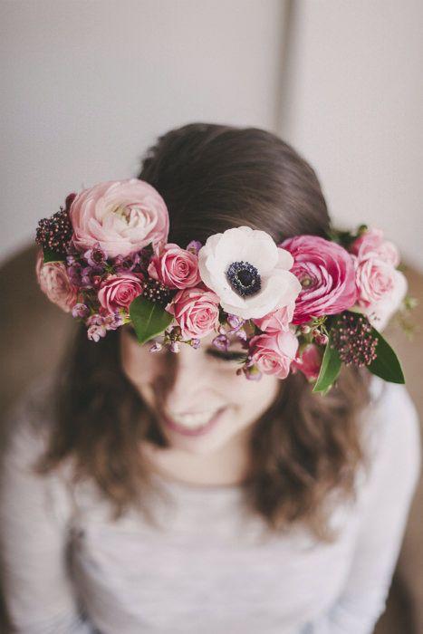 różowy wianek ślubny - poradnik ślubny wedding planner