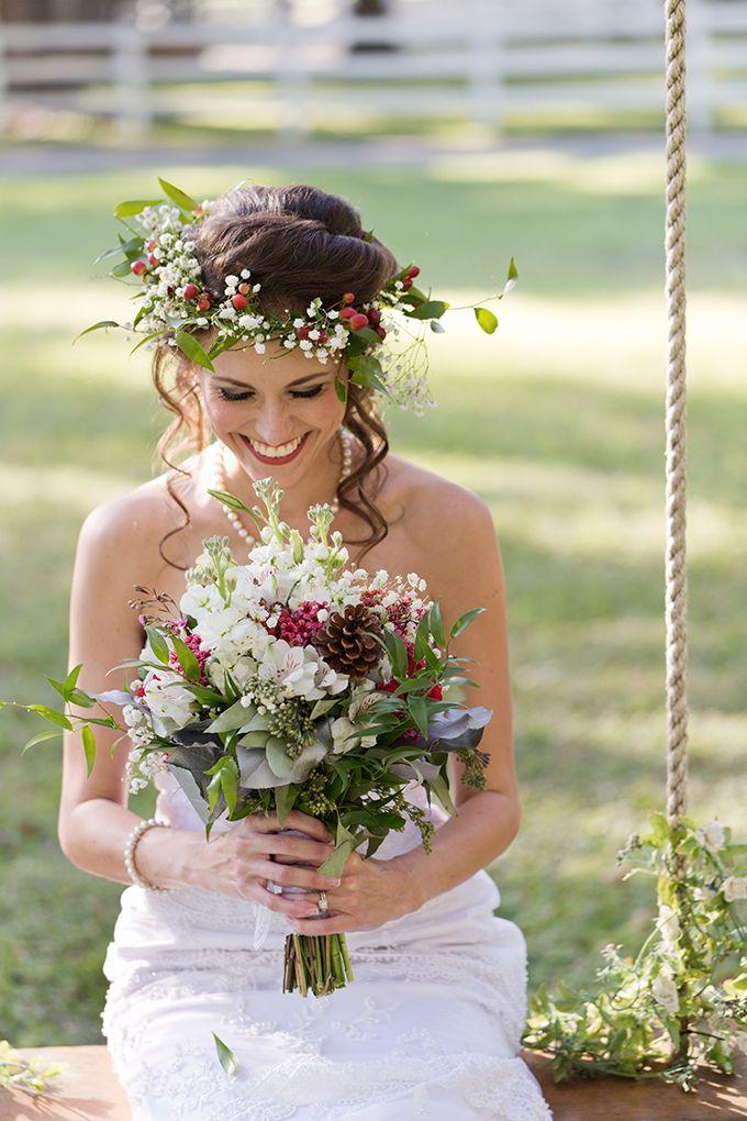 biały wianek ślubny - poradnik ślubny wedding planner