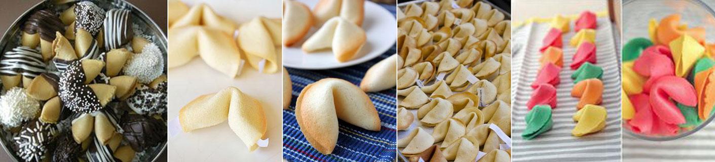 upominek dla gości wselenych - ciasteczka z wróżbą