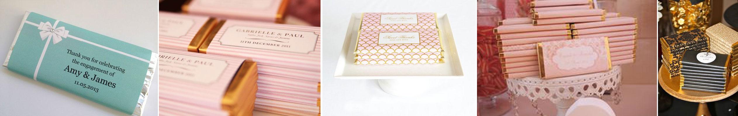 upominek dla gości wselenych - tabliczka czekolay