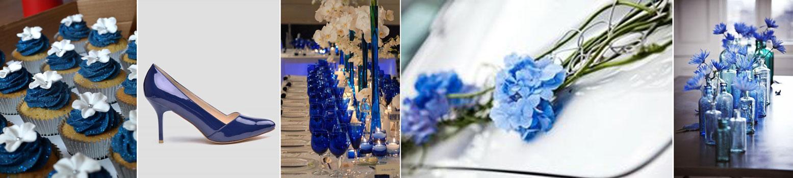 poradnik ślubny wedding planner'ki - dekoracje ślubne w kolorze niebieskim