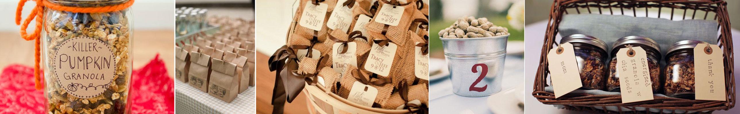 upominek dla gości wselenych - bakalie i orzechy