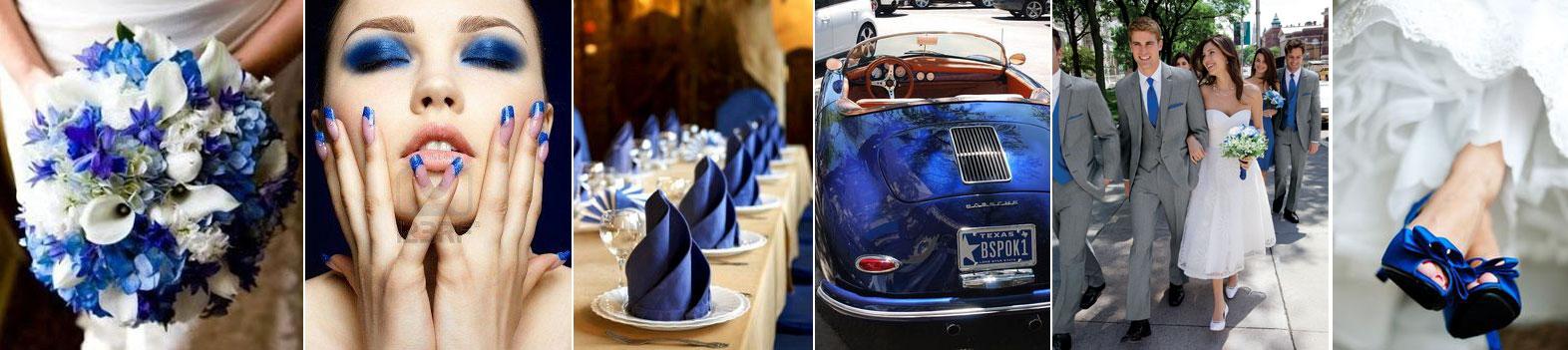 poradnik ślubny wedding planner'ki - inspiracje motyw niebiestki ślub