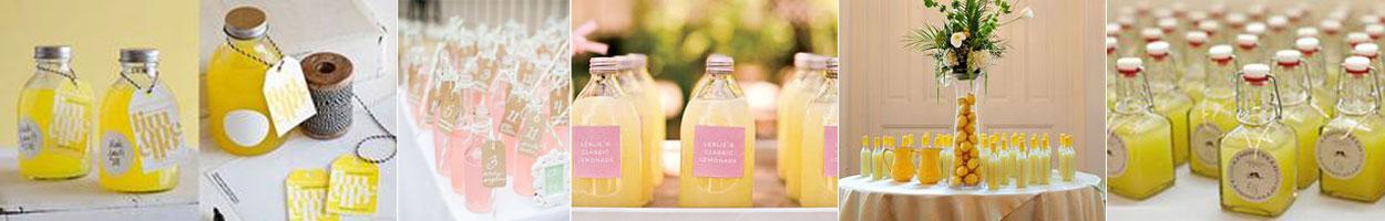 upominek dla gości wselenych - lemoniada