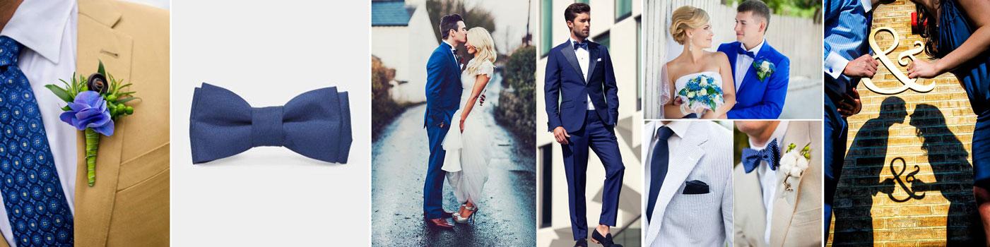 poradnik ślubny wedding planner'ki - pan młody na niebiesko