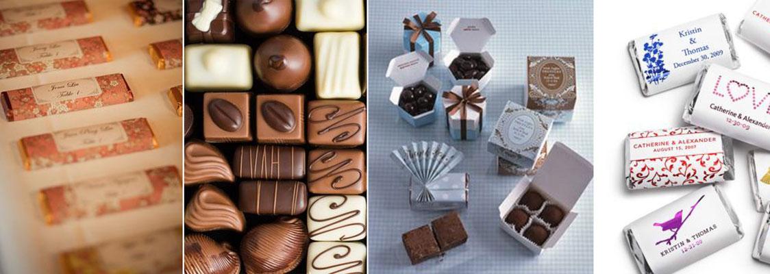 upominek dla gości wselenych - cukierki, słodycze