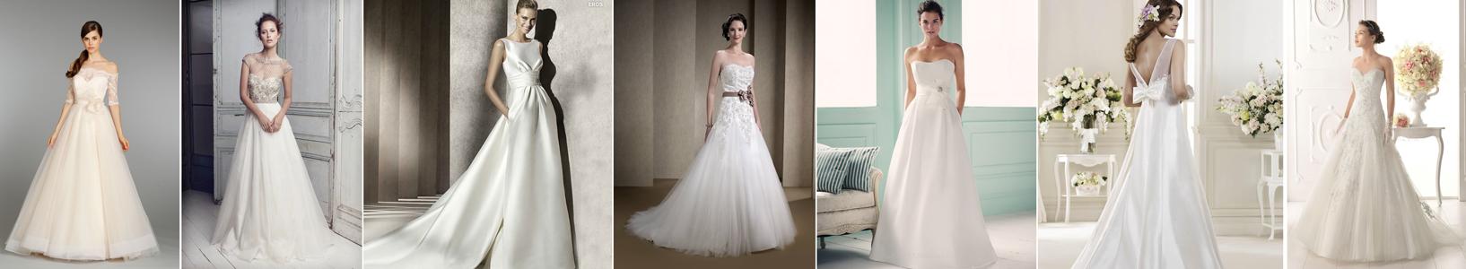 poradnik ślubny - suknia ślubna linia A - ukrywa brak wcięcia w talii