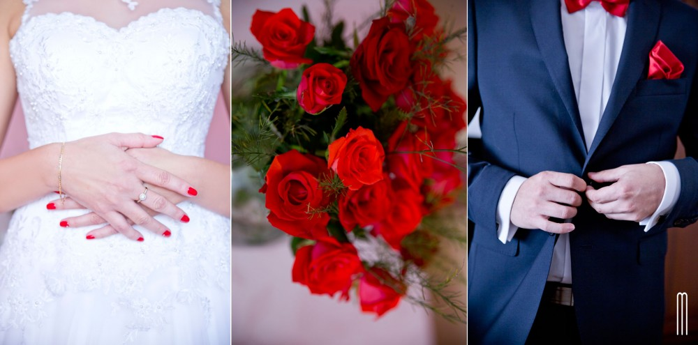 Moje fotografię inspirowane są zazwyczaj kolorem lub motywem przewodnim ślubu.