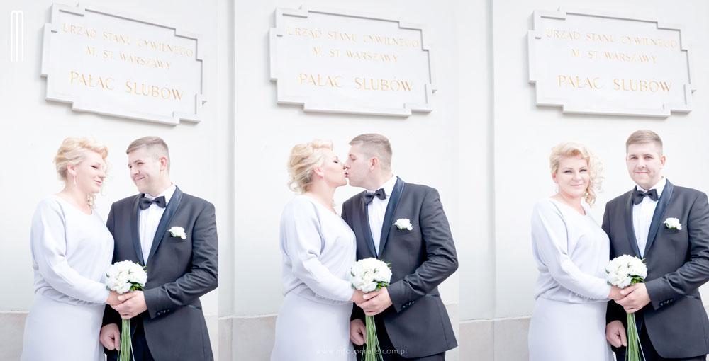 zdjęcie ze ślubu cywilnego
