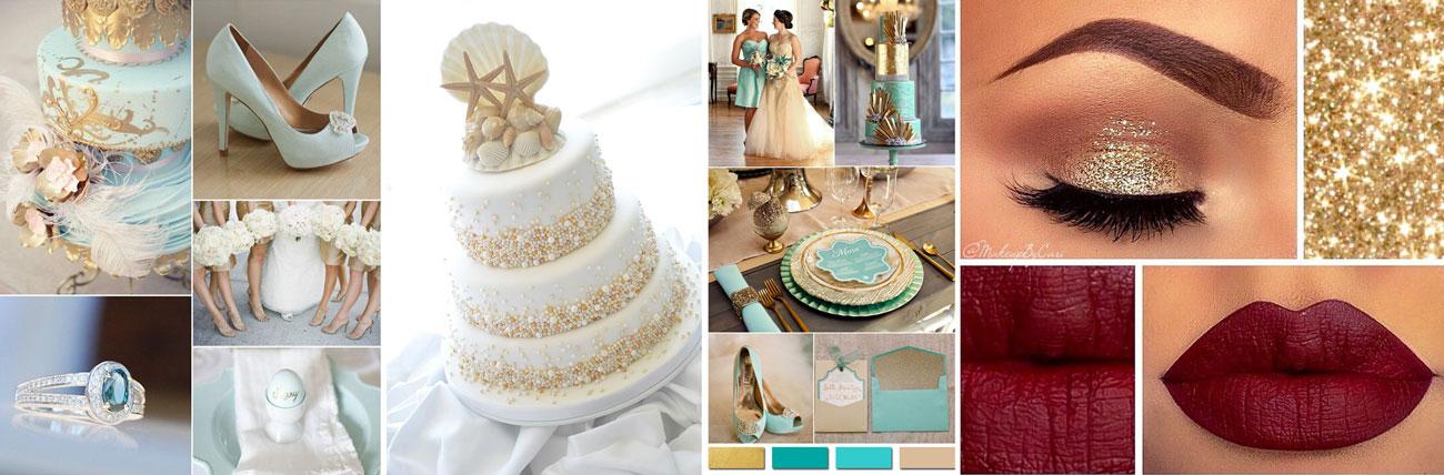 Złote I Srebrne Dekoracje ślubne Bez Kiczu Poradnik ślubny Wedding