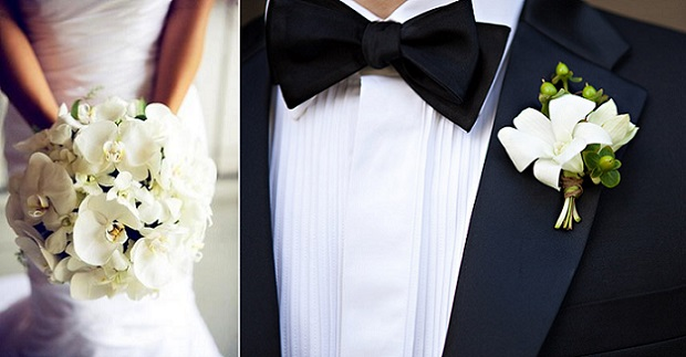 Butonierka, poszetka, brustasza – męska moda ślubna